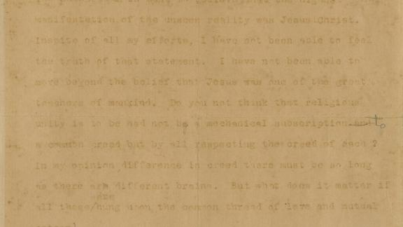 A portion of the letter, dated April 6, 1926.