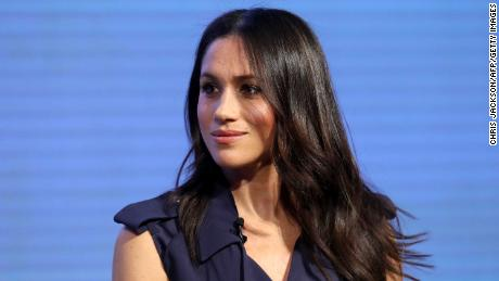 Meghan Markle, US actress and fiancee of Britain's Prince Harry attends the first annual Royal Foundation Forum on February 28, 2018 in London. / AFP PHOTO / POOL / Chris Jackson        (Photo credit should read CHRIS JACKSON/AFP/Getty Images)