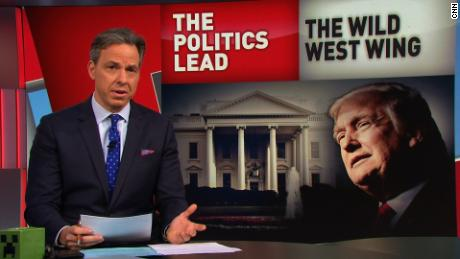 Tapper: What's a crazy day at WH? Wednesday