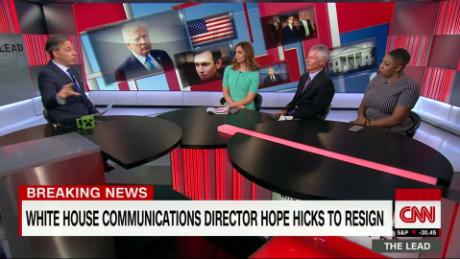 Lead  Panel 2 Live Hope Hicks Jake Tapper_00004528