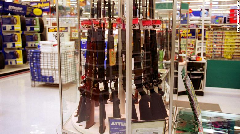 Walmart faces pressure to stop selling guns