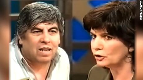 Archive SOT of Moyano and Bullrich arguing from back in 2001. Cursing was beeped.