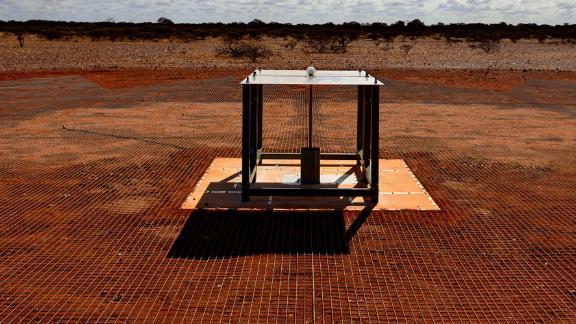 EDGES ground-based radio spectrometer, CSIRO