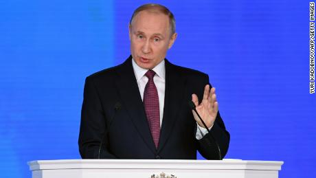 Putin touts new 'invincible' missile capable of piercing US defenses