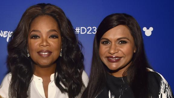 """Oprah Winfrey gave a generous gift to the newborn of her """"A Wrinkle In Time"""" costar, Mindy Kaling."""
