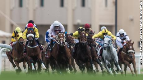 The Emir's Sword Festival in Doha is attracting runners from across the globe.