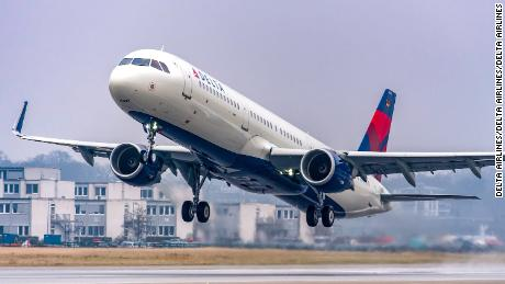 A Delta  Airline planes taxis on the runway last year at Ronald Reagan Washington National Airport in Arlington, Virginia.
