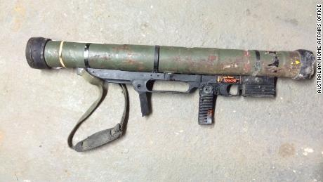 A rocket launcher was among guns handed in during a three-month Australian gun amnesty last year.