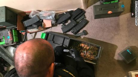 California's gun seizure squad finds an arsenal under a bed - CNN