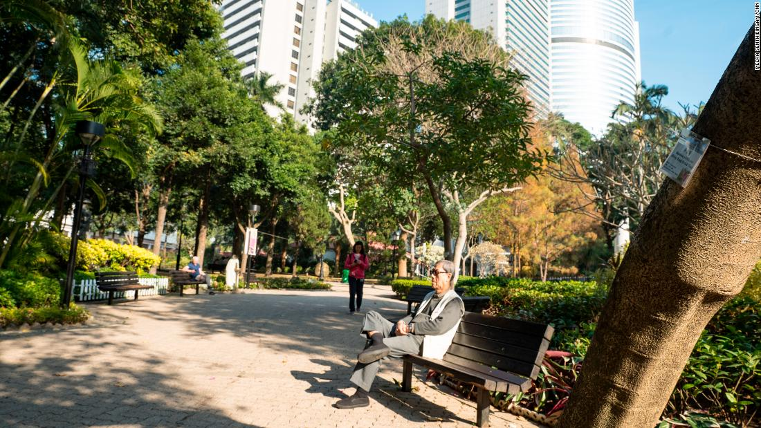 "Hong Kong is greener than most cities, and almost all districts are members of the WHO global network of <a href=""http://www.who.int/ageing/projects/age_friendly_cities/en/"" target=""_blank"">age-friendly cities</a>, which encourages the creation of urban spaces supportive of older people. Pictured, Hong Kong Park in the center of the city."