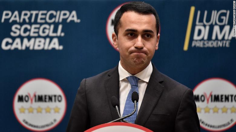 Italy's Five Star Movement gains momentum