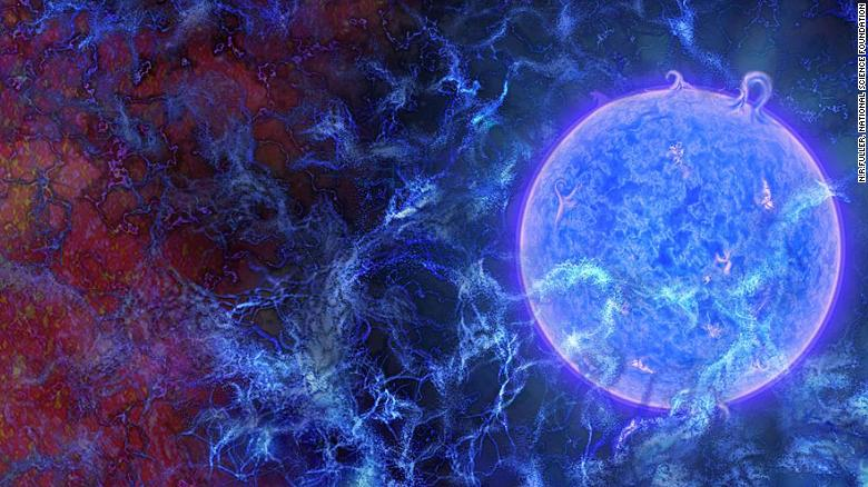 'Fingerprint' of earliest light in universe detected
