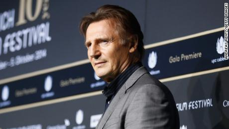 ZURICH, SWITZERLAND - OCTOBER 03:  Liam Neeson attends the 'A walk amongst the Tombstones' Green Carpet Arrivals during Day 9 of Zurich Film Festival 2014 on October 3, 2014 in Zurich, Switzerland.  (Photo by Andreas Rentz/Getty Images  for ZFF)