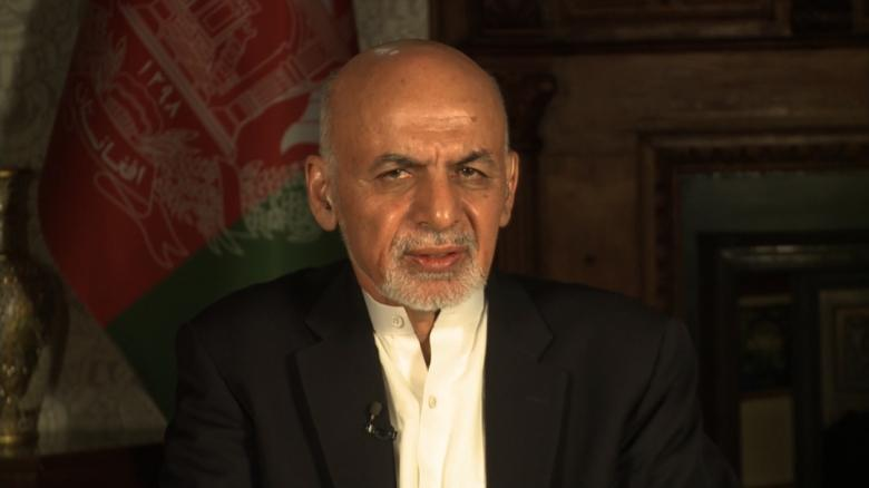 Afghan Pres. says 'every war' must end politically