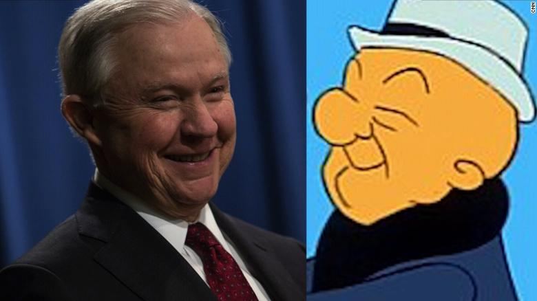 Trump compares AG Jeff Sessions to Mr. Magoo