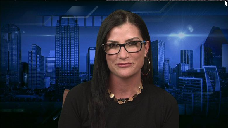Cooper presses Loesch on Trump's gun comments