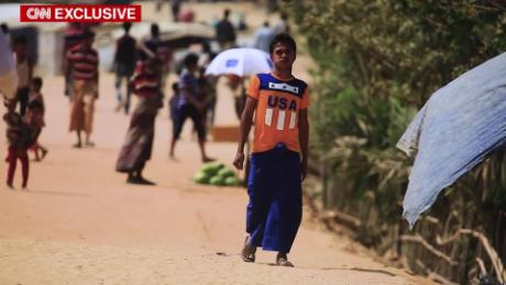 Rohingya massacre survivor left for dead