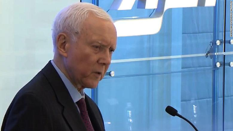 Sen. Hatch calls Obamacare supporters stupid