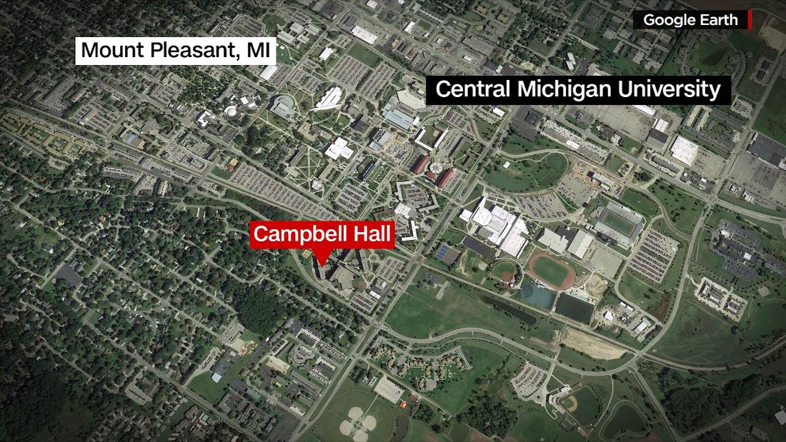 Shots reportedly fired at Central Michigan University