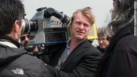 Director Christopher Nolan on the set of 'Dunkirk' in 2017. (Melinda Sue Gordon/ © Warner Bros. Pictures /Courtesy Everett Collection)