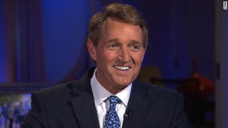 "Flake: Not sure GOP will be ""Trump party"" in 2020"