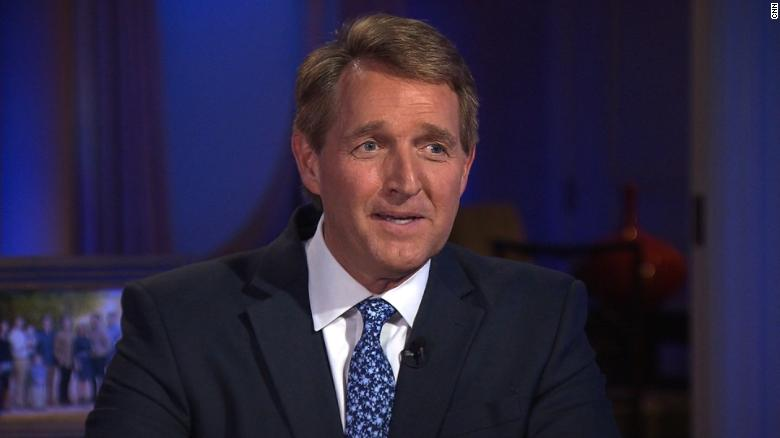 Sen. Flake: Trump will have 2020 GOP challenge