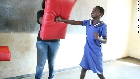 "Ujamaa-Pamodzi instructors teach the girls self-defense, and how to say: ""No!"""
