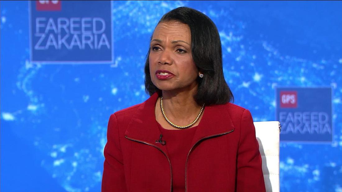 Condoleezza Rice says Trump asking Ukraine to investigate Biden is 'out of bounds'