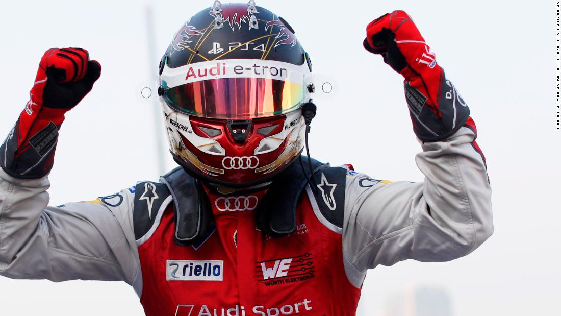 German Daniel Abt claimed his maiden Formula E victory in the circuit's fifth round in Mexico, racing for Audi, on March 3, 2018.