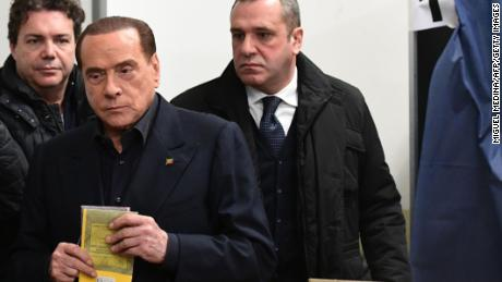 Former Prime Minister Silvio Berlusconi's party had a disappointing night at the polls.