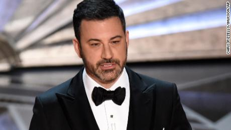 Host Jimmy Kimmel at the Oscars on Sunday, March 4, 2018