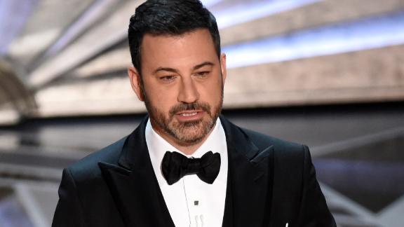 Host Jimmy Kimmel at the Oscars on Sunday, March 4, 2018