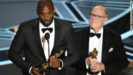 Kobe Bryant left his mark on Hollywood, too