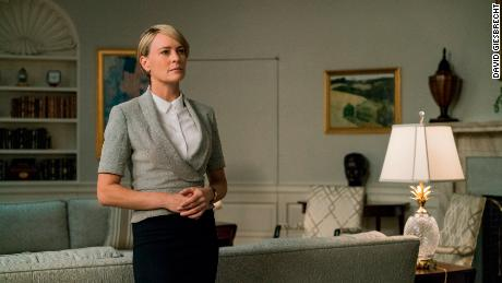 Robin Wright on 'House of Cards.'