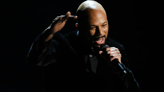HOLLYWOOD, CA - MARCH 04:  Musician Common performs onstage during the 90th Annual Academy Awards at the Dolby Theatre at Hollywood & Highland Center on March 4, 2018 in Hollywood, California.  (Photo by Kevin Winter/Getty Images)