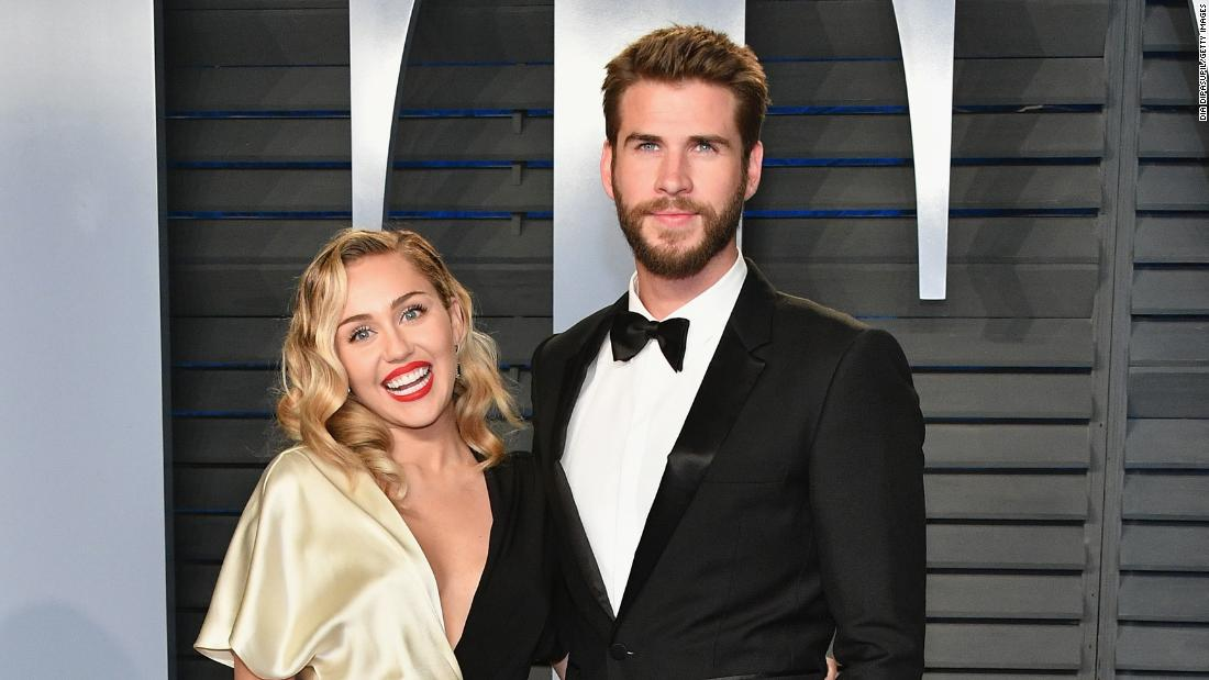 Liam Hemsworth shares striking photo of his home in ruins ...