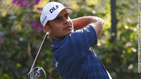 Making his WGC debut, Shubhankar Sharma of India was the leader after 54 holes, but ultimatlely fell away Sunday.