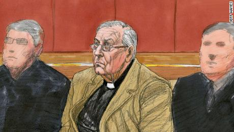 Cardinal George Pell in a Melboune court Monday, March 5.