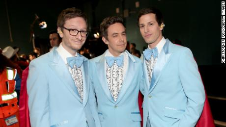 Akiva Schaffer, Jorma Taccone, and Andy Samberg of 'The Lonely Island'