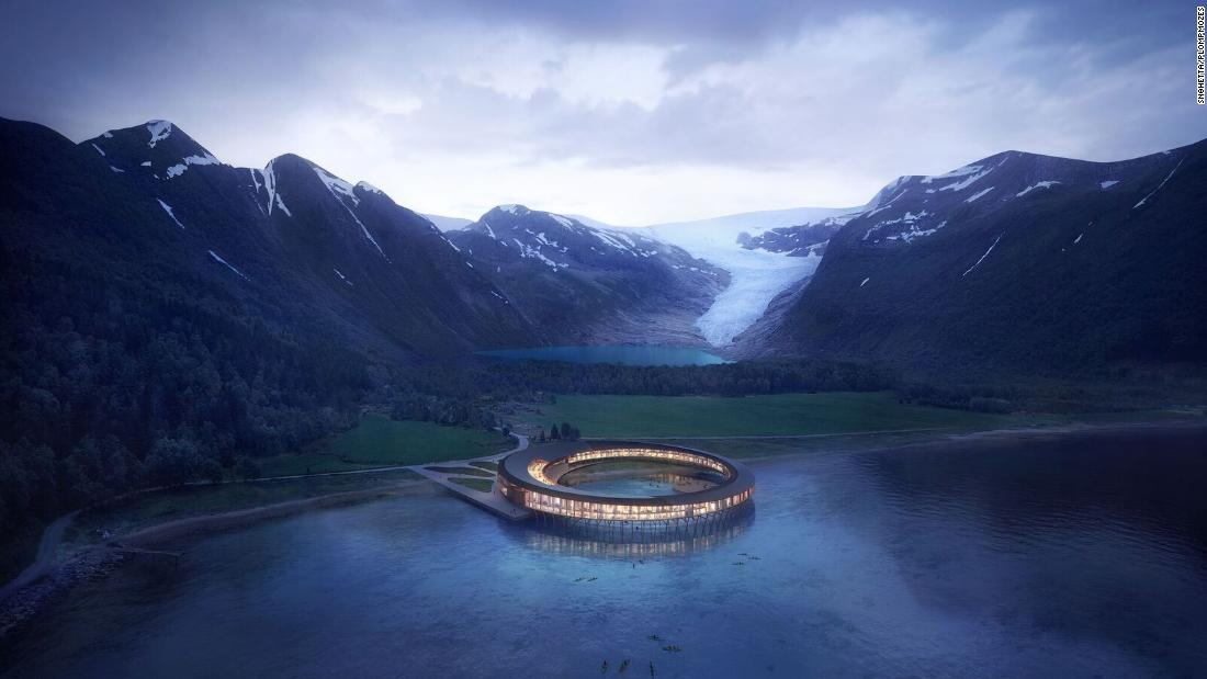 Arctic gets world's first energy-positive hotel