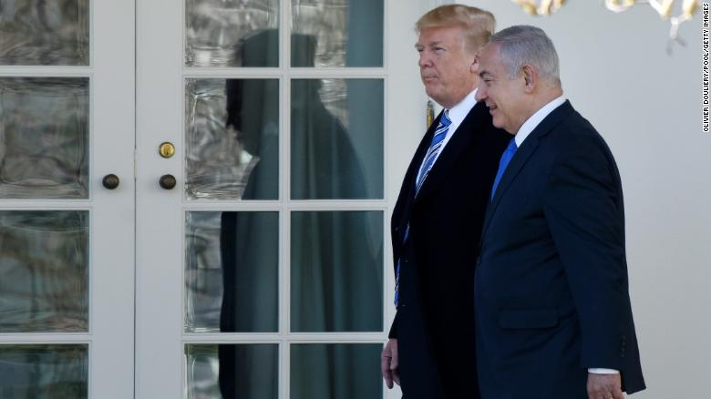 Netanyahu borrows from Trump campaign strategy