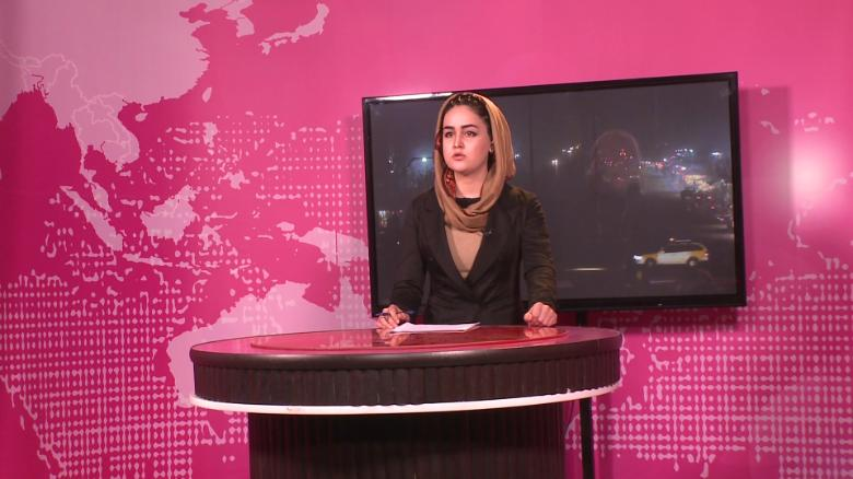 Inside Afghanistan's only female TV station