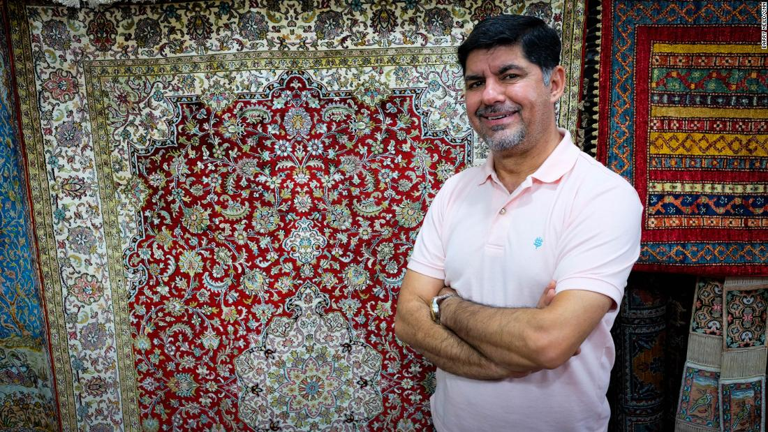 Meet the Indiana Jones of carpets