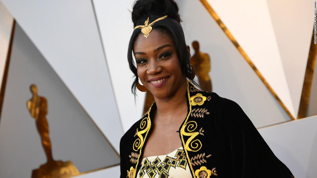Tiffany Haddish honors Eritrean heritage at the Oscars with stunning zuria gown