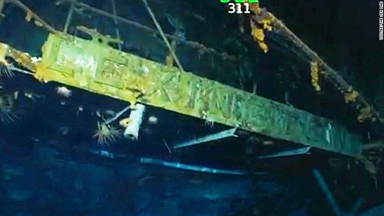 Expedition led by billionaire finds WWII ship