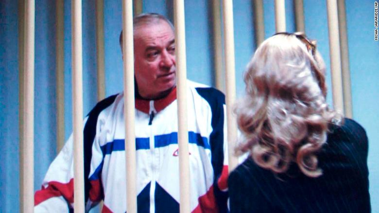 Former Russian spy poisoned by nerve agent