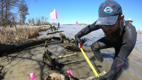 Expert volunteers examined the shipwreck found in January and discovered that it wasn't the last American slave ship, the Clotilda.