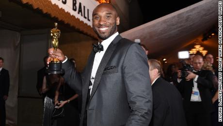 HOLLYWOOD, CA - MARCH 04:  Kobe Bryant attends the 90th Annual Academy Awards Governors Ball at Hollywood & Highland Center on March 4, 2018 in Hollywood, California.  (Photo by Kevork Djansezian/Getty Images)