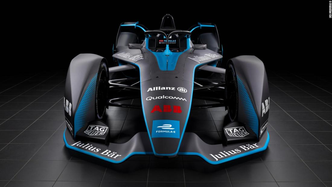 Formula E, the world's leading all-electric racing series, officially unveiled its next generation car Tuesday at the Geneva Motor Show.