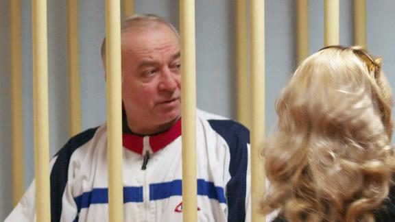 Retired colonel sentenced to 13 years in prison for spyingMOSCOW, RUSSIA - MARCH 6, 2018: Pictured in this file image dated August 9, 2006, is retired colonel Sergei Skripal during a hearing at the Moscow District Court.